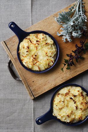 Potato Gratin in HARVEST Niseko Cook Book